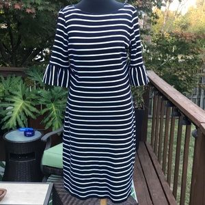 Talbots knit navy dress size S